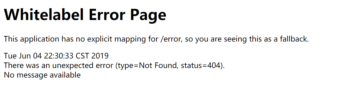 spring boot整合jsp的时候访问页面错误日志:Path with