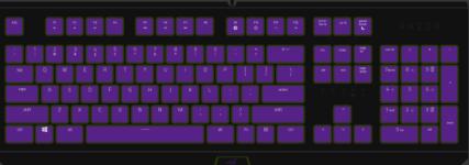 雷蛇键盘怎么关闭背景灯光?